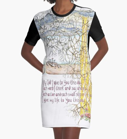 To You This Day Graphic T-Shirt Dress