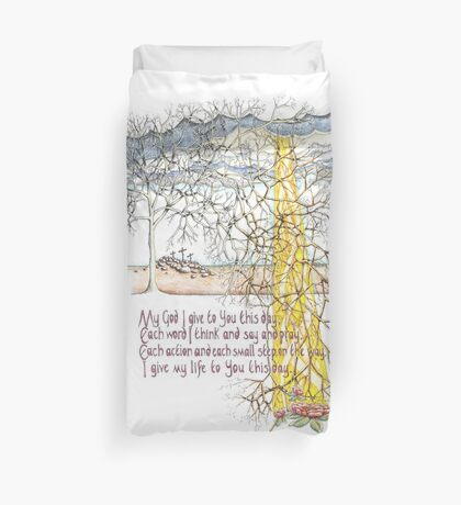 To You This Day Duvet Cover