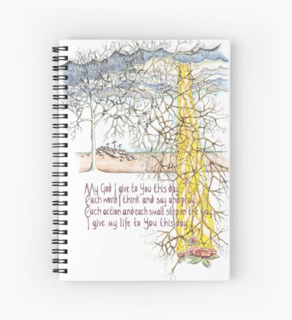 To You This Day Spiral Notebook