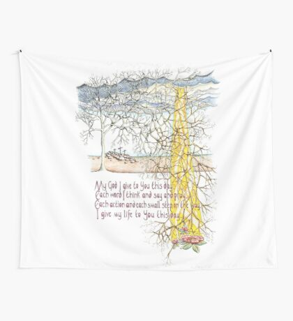 To You This Day Wall Tapestry