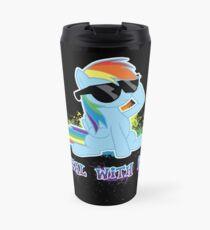 Taza de viaje My Little Pony - MLP - Raindow Dash - Hazlo