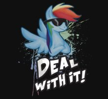 My Little Pony Rainbow Dash - Deal With It | Unisex T-Shirt