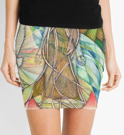 Tree Of Life Mini Skirt