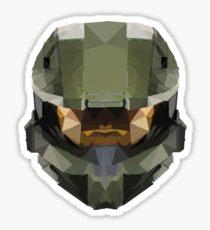 Halo Master Chief Poly Sticker