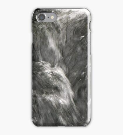 Silver flow iPhone Case/Skin