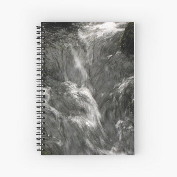 Silver flow Spiral Notebook