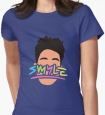 Smyle - Super Duper Kyle Womens Fitted T-Shirt