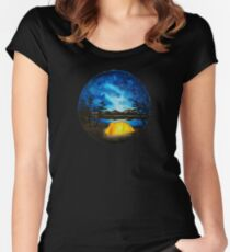Enjoy the Outdoors Women's Fitted Scoop T-Shirt