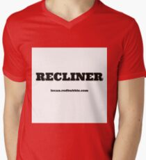 RECLINER Mens V-Neck T-Shirt