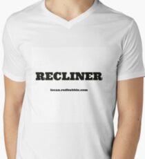 RECLINER Mens V-Neck T-Shirt