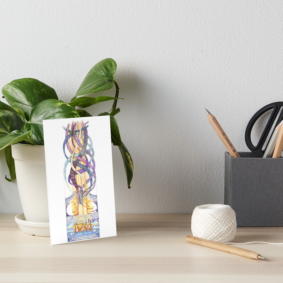 Two or Three Art Board Print