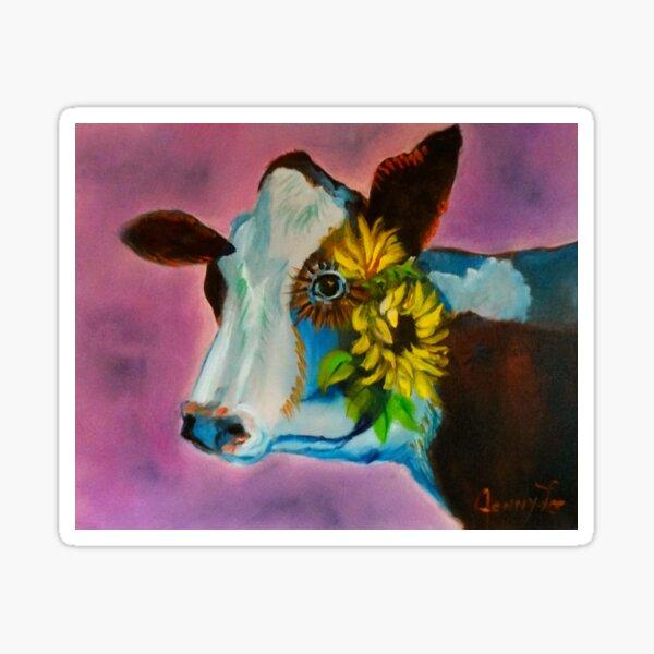 Jersey Cow Sticker