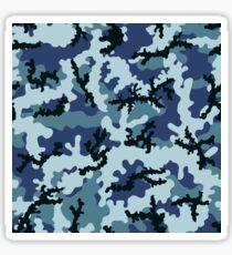 Navy camouflage Sticker