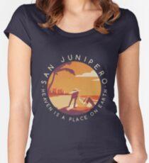 Black Mirror: San Junipero - Vintage Style Women's Fitted Scoop T-Shirt