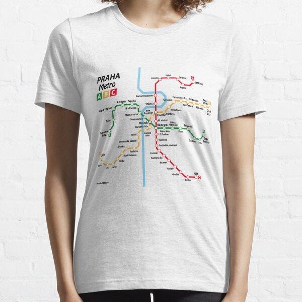 PRAGUE metro network Essential T-Shirt