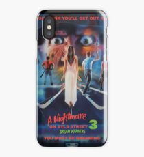 Say You Love Satan 80s Horror Podcast - A Nightmare on Elm Street 3 - Dream Warriors iPhone Case/Skin
