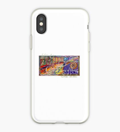 With God iPhone Case