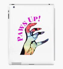 Lady Gaga // Paws Up!  iPad Case/Skin