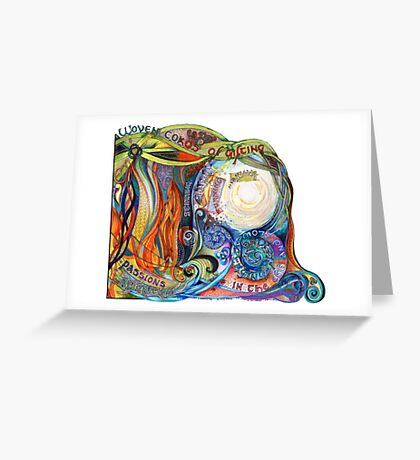 Woven Cords Greeting Card