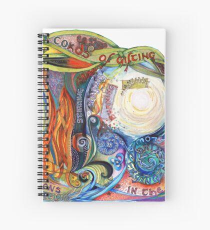 Woven Cords Spiral Notebook