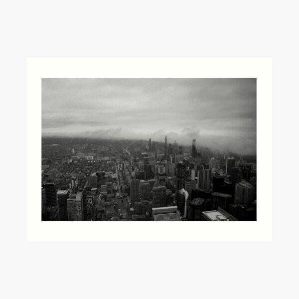 Fog in the City Art Print