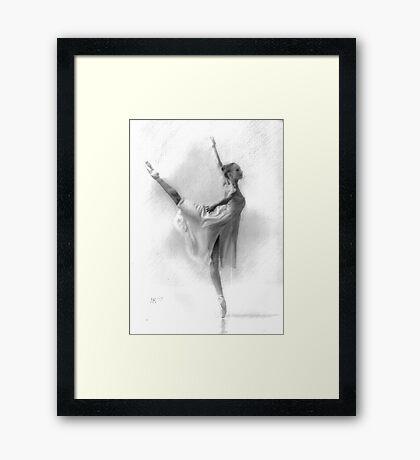"""""""Ballerina"""" Framed Print"""