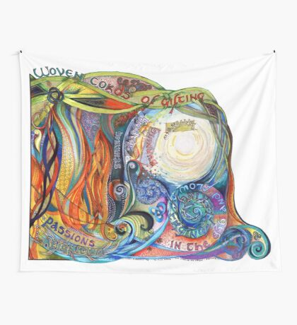 Woven Cords Wall Tapestry