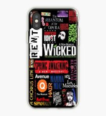 Broadway - Musical Collage iPhone Case