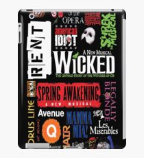 Broadway - Musical Collage iPad Case/Skin