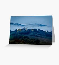 Low Cloud in Umbria Greeting Card