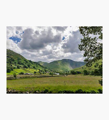 Hartsop Valley Lake District Photographic Print