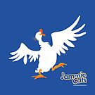 Laughing Goose from Jammie Cats Count! by Terre Britton