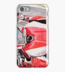 Ducati 1098R cockpit iPhone Case/Skin