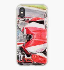 Ducati 1098R cockpit iPhone Case