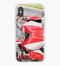 Ducati 1098R cockpit iPhone Case