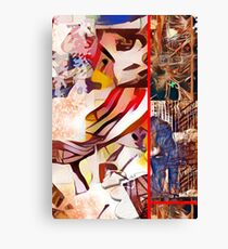 World of Abstract Art Canvas Print