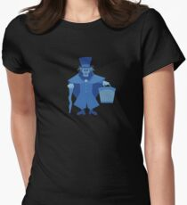 Hatbox Ghost (Blue) - The Haunted Mansion T-Shirt