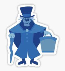 Hatbox Ghost (Blue) - The Haunted Mansion Sticker