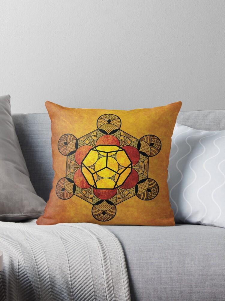 Sacred Geometry - Ether Amber by RAFAROMAN