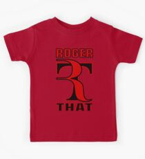 ROGER THAT - RF Kids Clothes