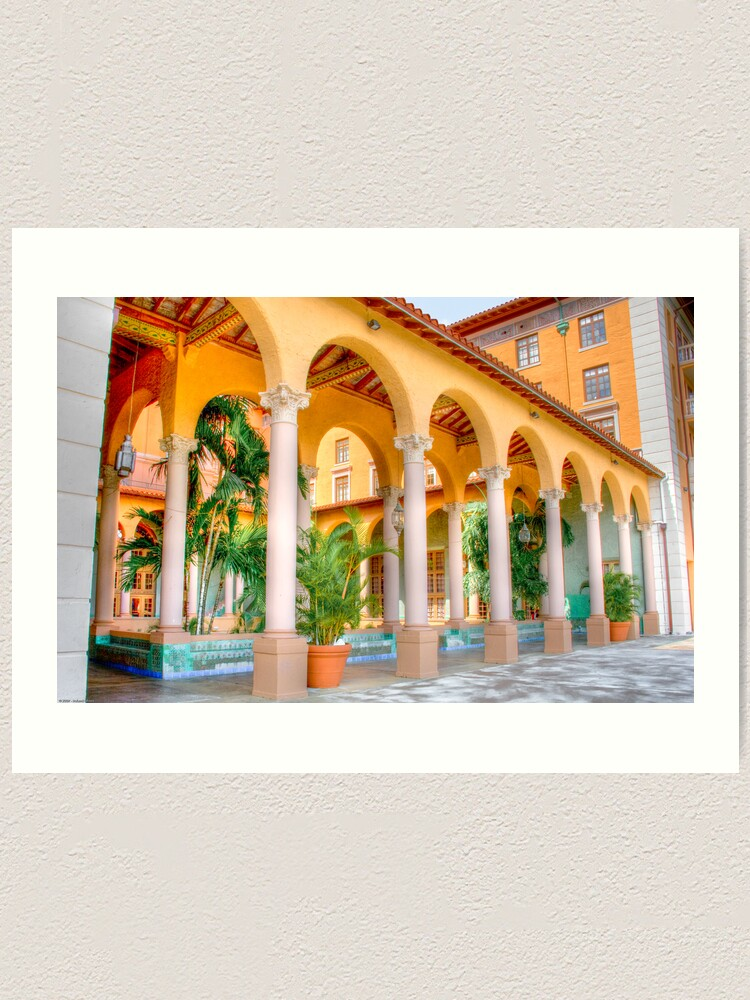 Alternate view of Arched Terrace Art Print