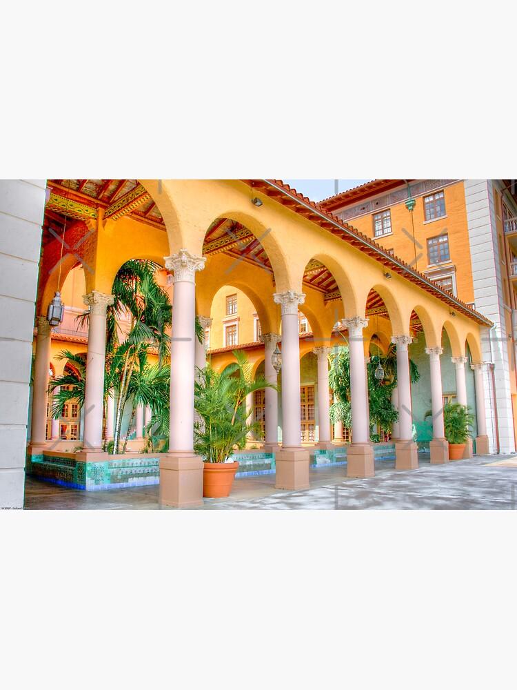 Arched Terrace by photorolandi