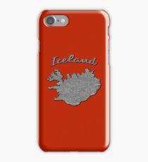 Vintage Iceland Cases/Skins (red) iPhone Case/Skin