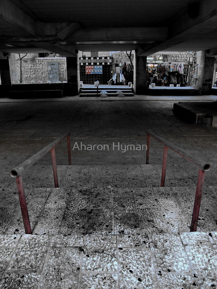 under the bank by Aharon Hyman