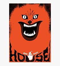Lámina fotográfica Hausu (ハ ウ ス) Retro Japanese Horror Película