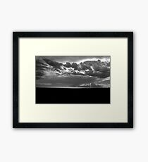 """Lonesome Prairie"" Framed Print"