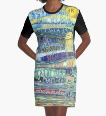 Your Breath Graphic T-Shirt Dress