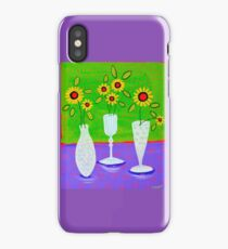 Flowers and Cut Gass iPhone Case