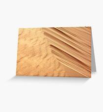 Sanddunes Greeting Card