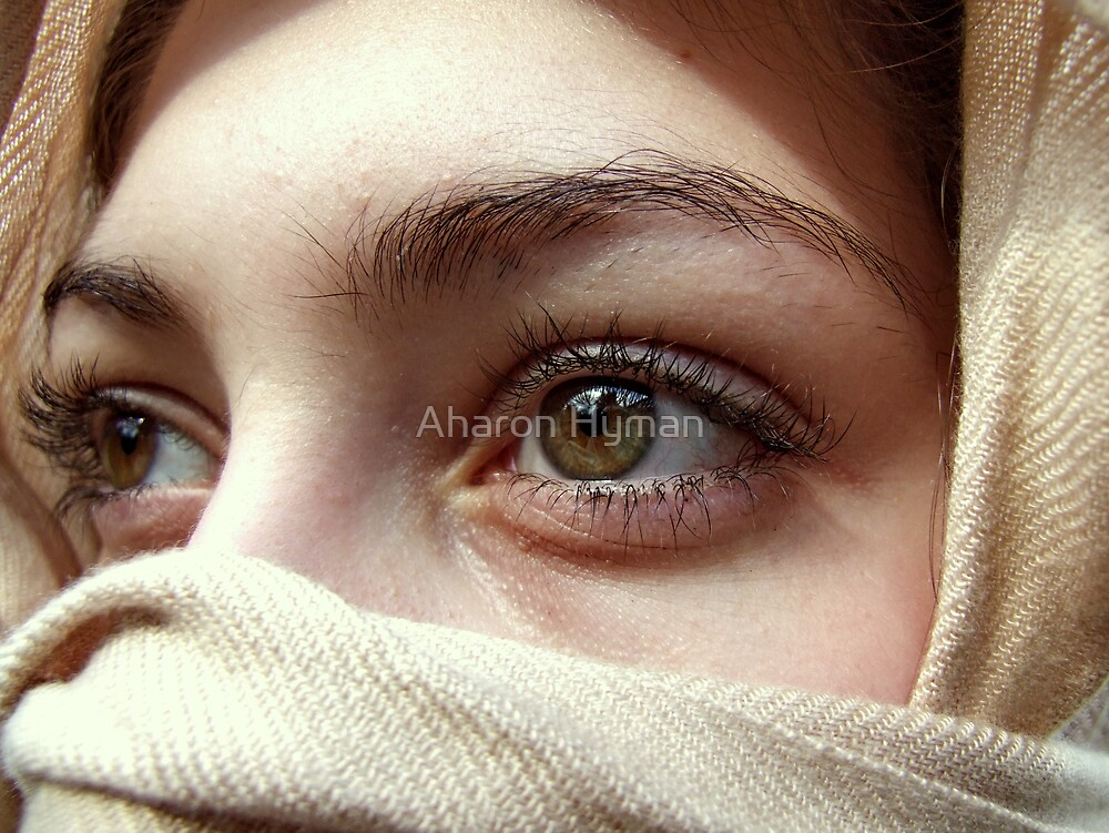 my sisters eyes by Aharon Hyman